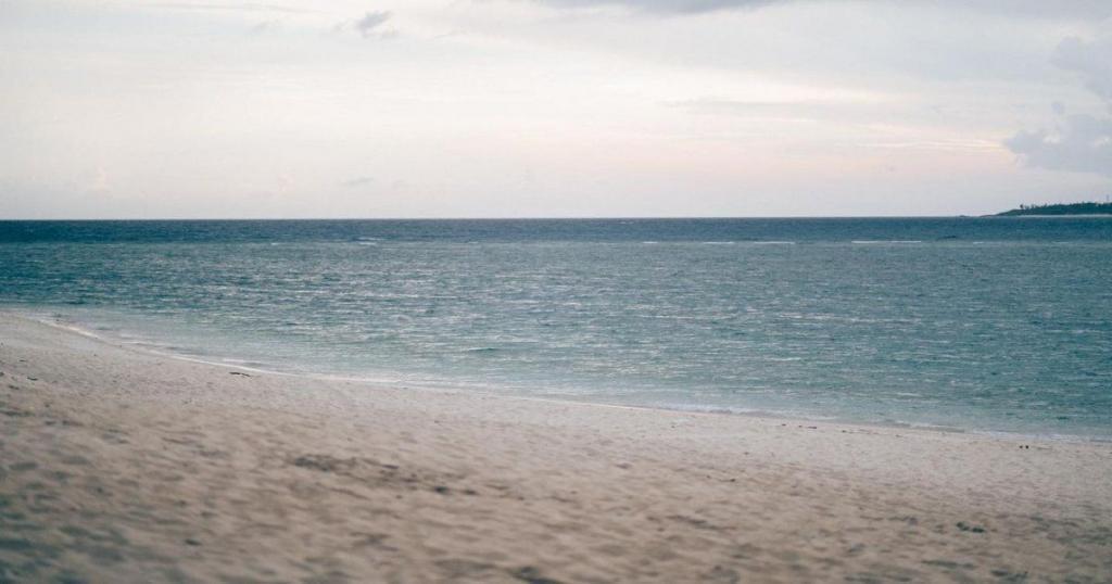 La playa Blanche