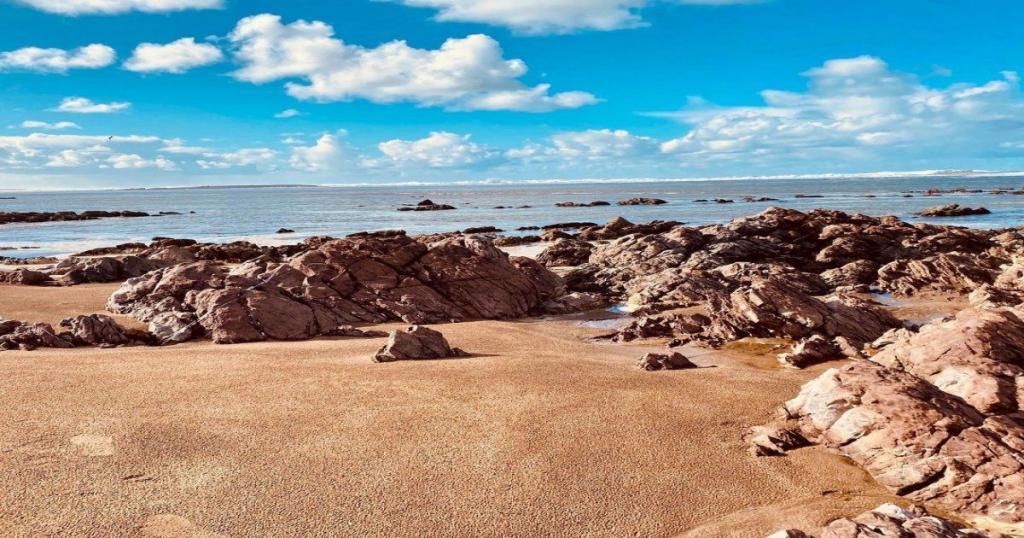La playa de Skhirat
