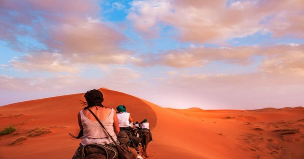 Año Nuevo y Navidad en el desierto de Merzouga, Fin de año Marruecos.