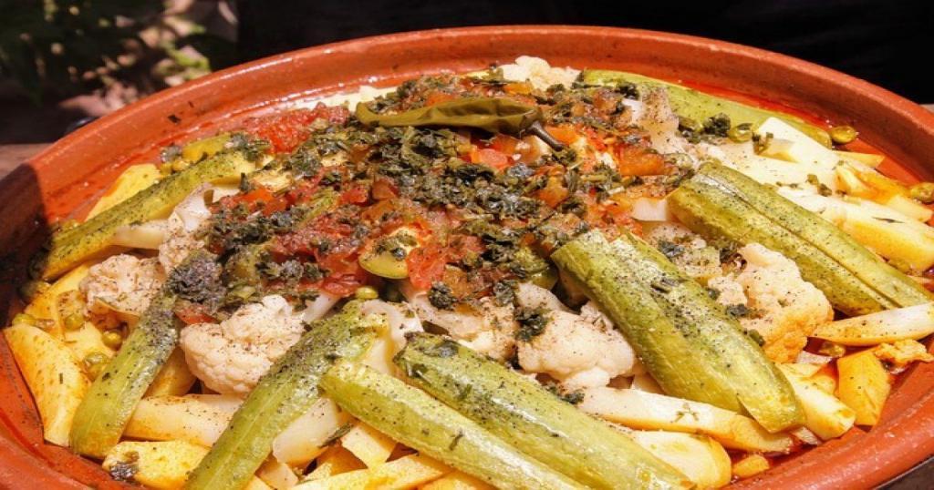 Marroqui, vegetariano, picante, cordero, ternera, Tajine