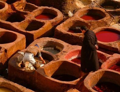 Curtiduría de Chouara, la visitaremos con nuestros 6 días desde Casablanca
