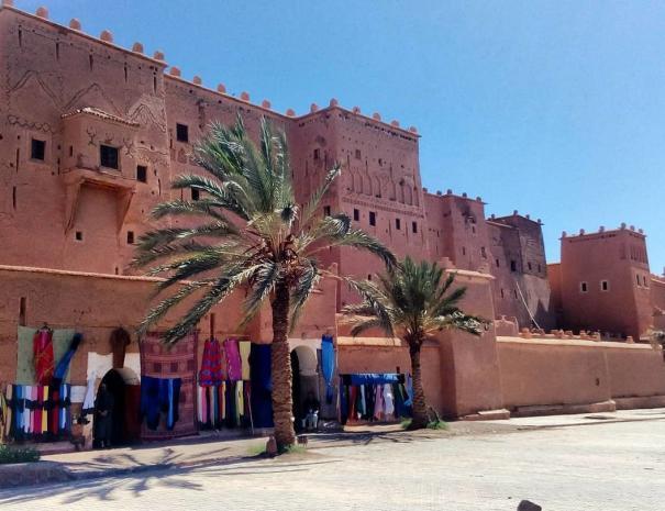 La kasbah di Taourirt, una delle kasbah che visiteremo con la nostra settimana in Marocco