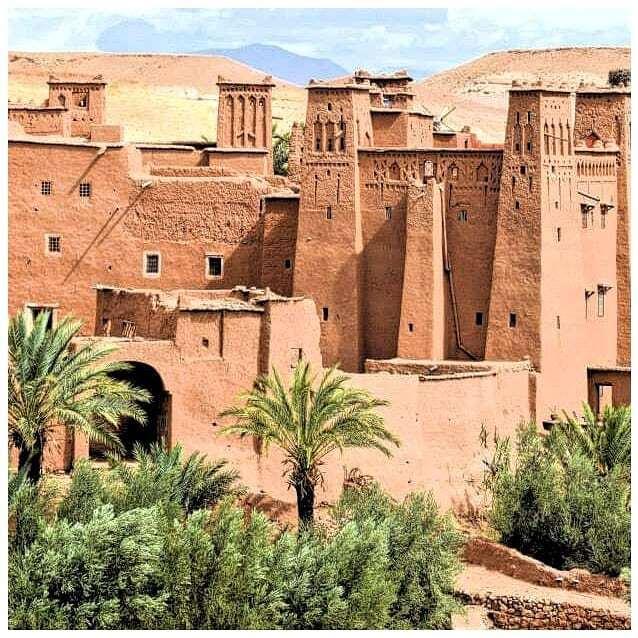 la Kasbah di Ait benhaddou, una delle migliori kasbah che visiteremo con la nostra tour itinerario Marrocco 8 giorni