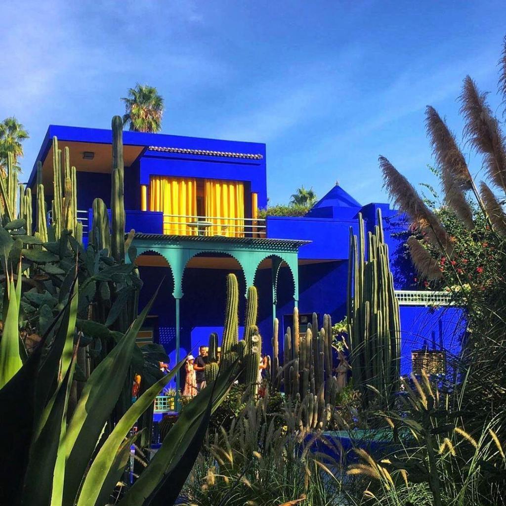 Giardino Majorelle, un sito che esploreremo a MArrakech con il nostro tour di 7 giorni in Marocco
