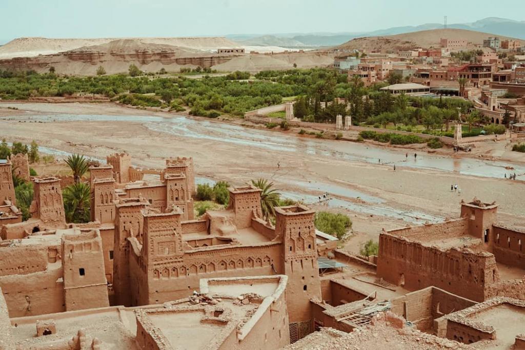 vista panoramica del nostro tour itinerario Marrocco 8 giorni