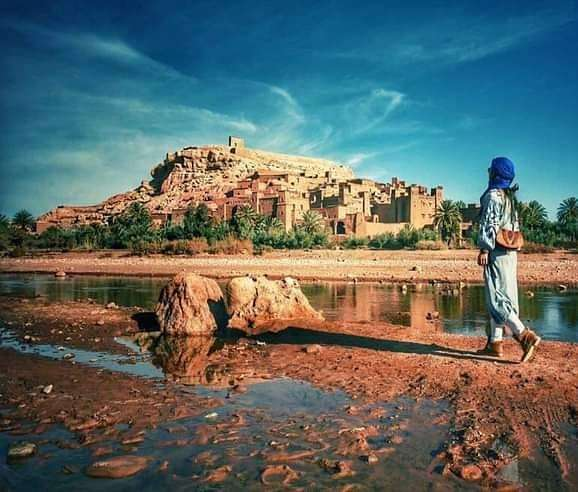Fortezza di Ait benhaddou kasbah