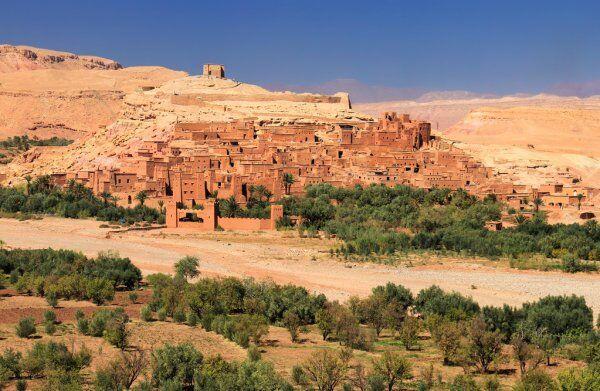 il villaggio fortificato di Ait Ben Haddou in Marocco