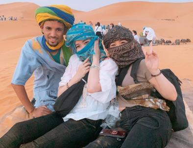 il deserto del Sahara, il punto culminante delle nostre escursioni nel deserto di tangeri