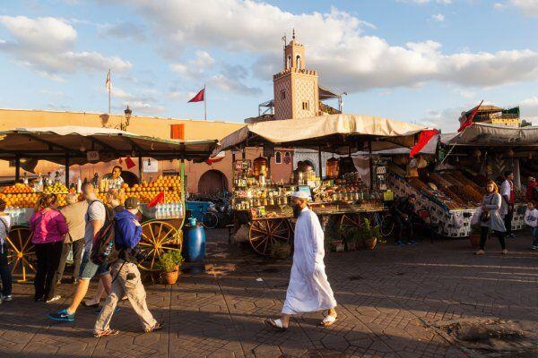Marocco jamaa lafna Piazza del Marocco con il Marocco 3 giorni di tour da Fes a Marrakech