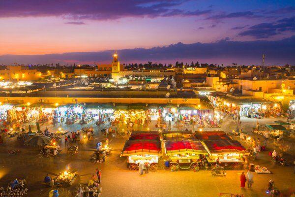 Marrakech con il Marocco escursioni da Fes