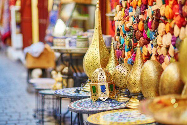 Marocco pentole colorate