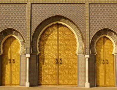 muro a Fes Marocco