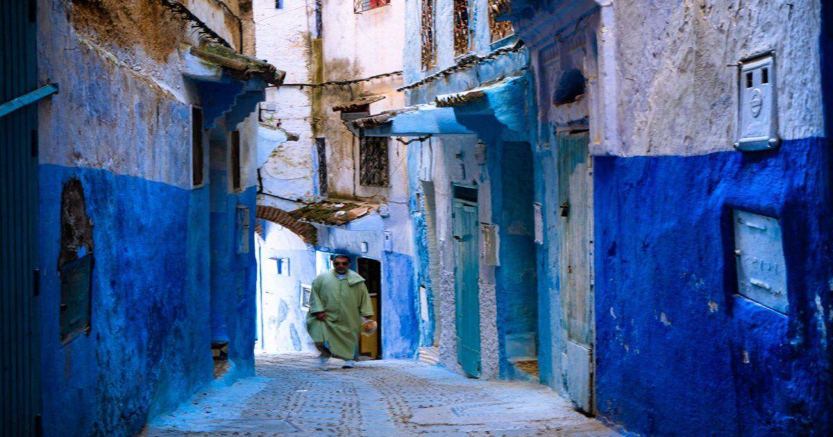 foto in primo piano dei nostri 2 giorni da Tangeri a Chefchaouen