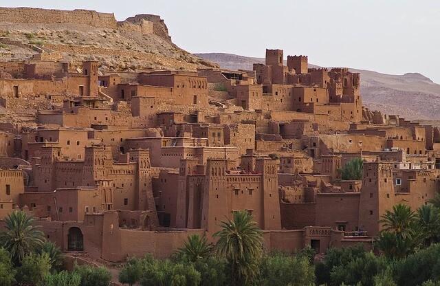 Kasbah ait ben Haddou in Marocco