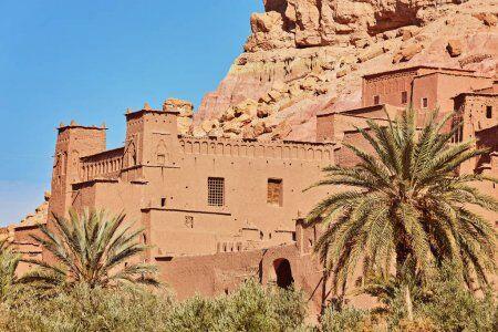 la Kasbah di ait benhaddou, una delle nostre destinazioni da raggiungere con le nostre escursioni da tangeri