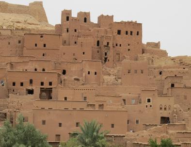 la Kasbah di Ait benhaddou, un sito che esploreremo con il nostro tour di 5 giorni in Marocco da Tangeri a Marrakech