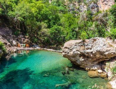 Visiteremo le cascate di akchour con il nostro tour da tangeri a chefchaouen in 2 giorni