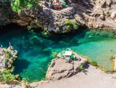 le cascate di Akchour, non lontano da Tangeri e Chefchaouen