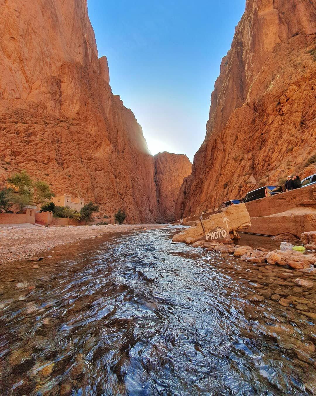 Gole del Todgha, una delle cose che visiteremo con il nostro tour di 7 giorni in Marocco