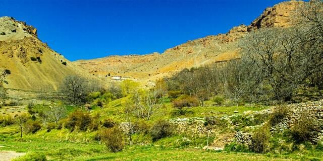 valli sulla strada da marrakech al deserto di merzouga