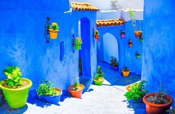 Chefchaouen la città blu marocchina