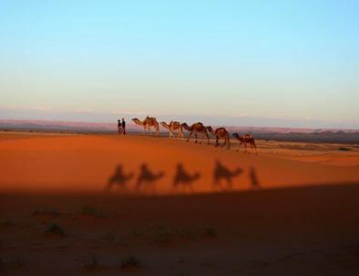 Merzouga con 2 giorni del deserto del Sahara da Fez (2 giorni di viaggio da Fes a Merzouga)
