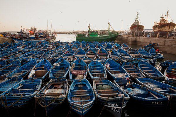 Mogador essaouira, la città che si trova in riva al mare, la includeremo sicuramente nella nostra escursione nel deserto da Tangeri