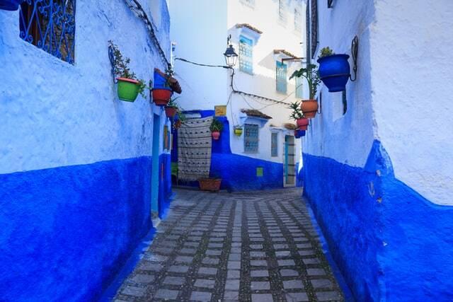 la città blu del marocco da marrakech