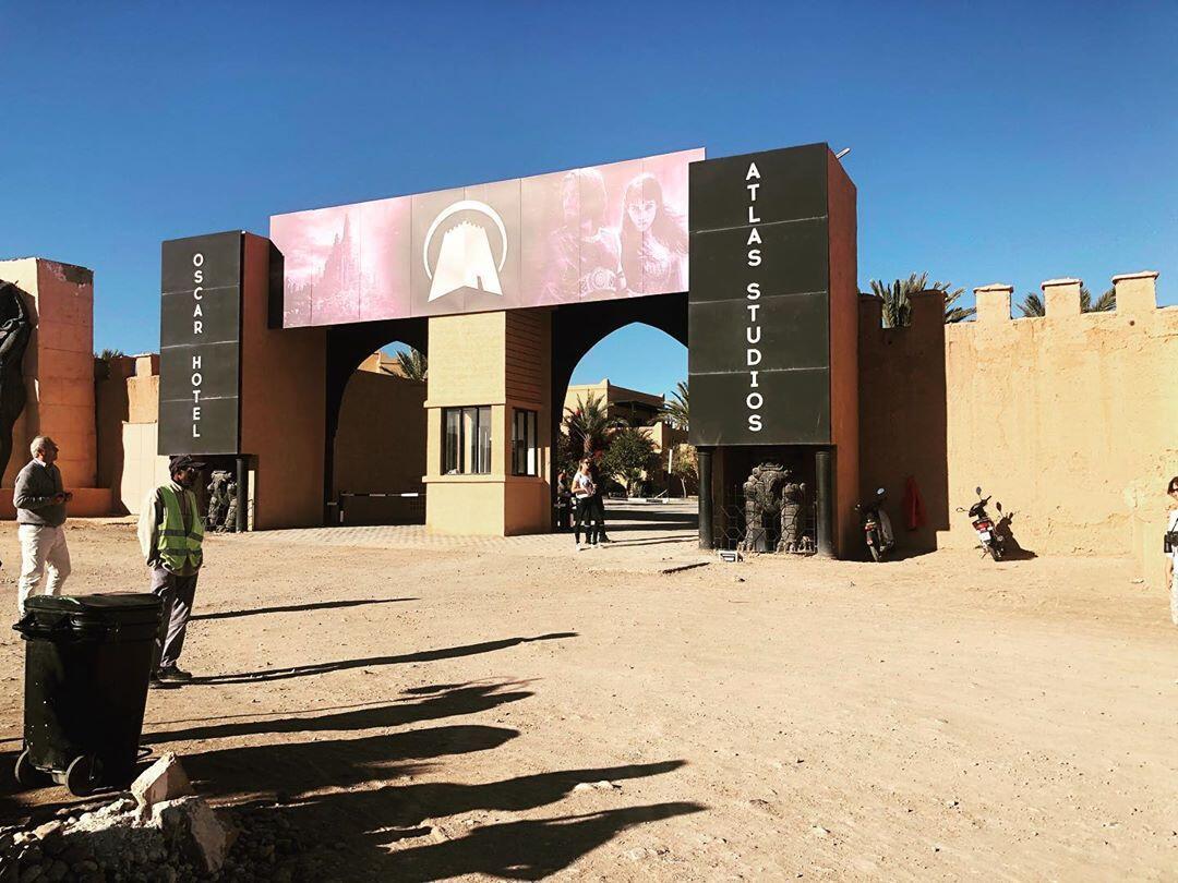 Ouarzazate, il cinema della città, la visiteremo con il nostro viaggio tour itinerario Marrocco 8 giorni