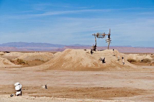 Sistema di irrigazione di Fezna durante il tour del deserto di 5 giorni da Fes a Marrakech