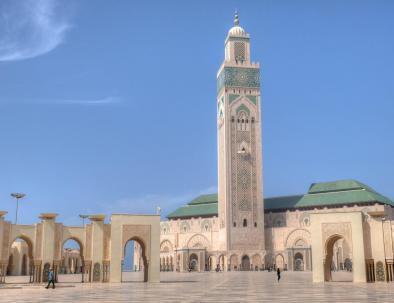 Moschea di hassan 2 con le nostre escursioni da Casablanca
