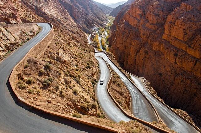 Agenzia di viaggi Dades gorges in Marocco per viaggi nel deserto