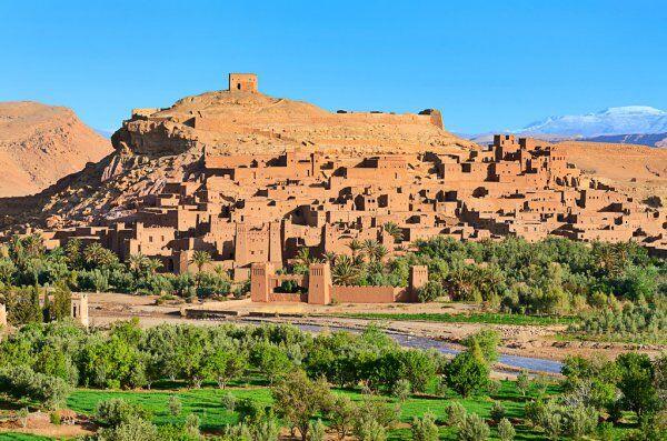 La kasbah di Ait benhaddou, uno dei migliori siti che visiteremo durante la nostra tour del Marocco in 7 giorni da Casablanca