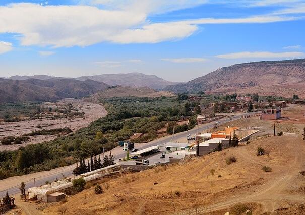 una delle valli che visiteremo con le nostre escursioni a Tangeri