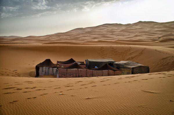 campeggio a Merzouga, una delle migliori attività del nostro tour del Marocco in 7 giorni