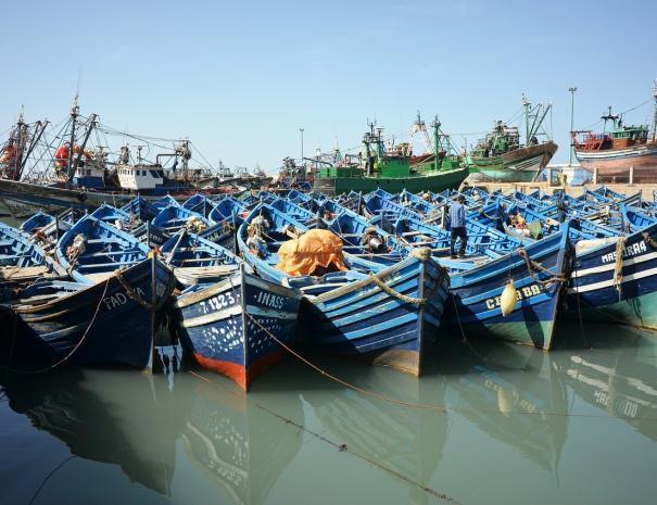 porti di essaouira mogador, la visiteremo con alcuni dei nostri itinerari da Casablanca ed escursioni