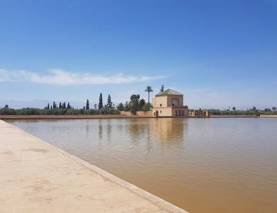 Il giardino della menara è uno dei siti che visiteremo con il nostro tour di 6 giorni in Marocco