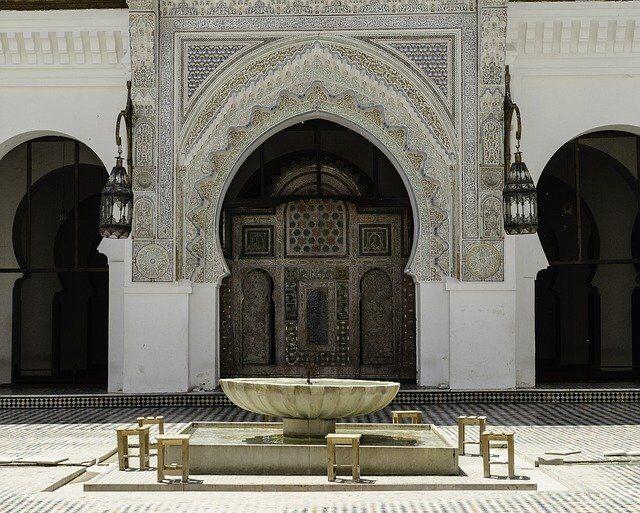 riad e architettura di Fes Marocco