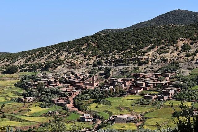 il lato dell'atlante, un sito di cui scriveremo nel nostro blog di viaggi in Marocco
