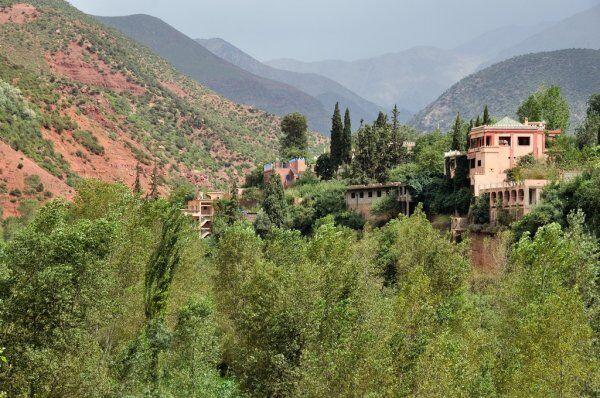 una foto delle valli in cui viaggeremo con le nostre escursioni a Casablanca e gli itinerari di viaggio