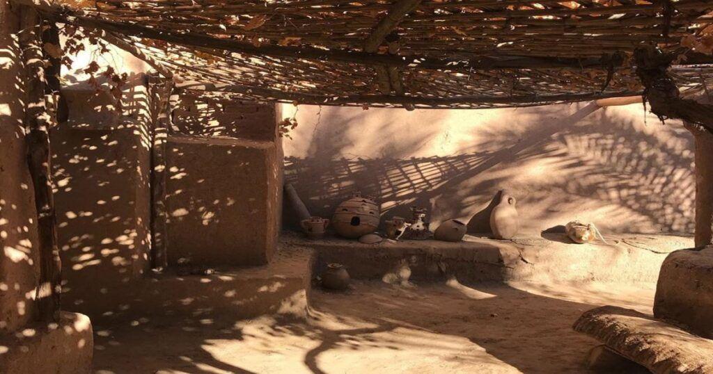 muri di fango in Marocco