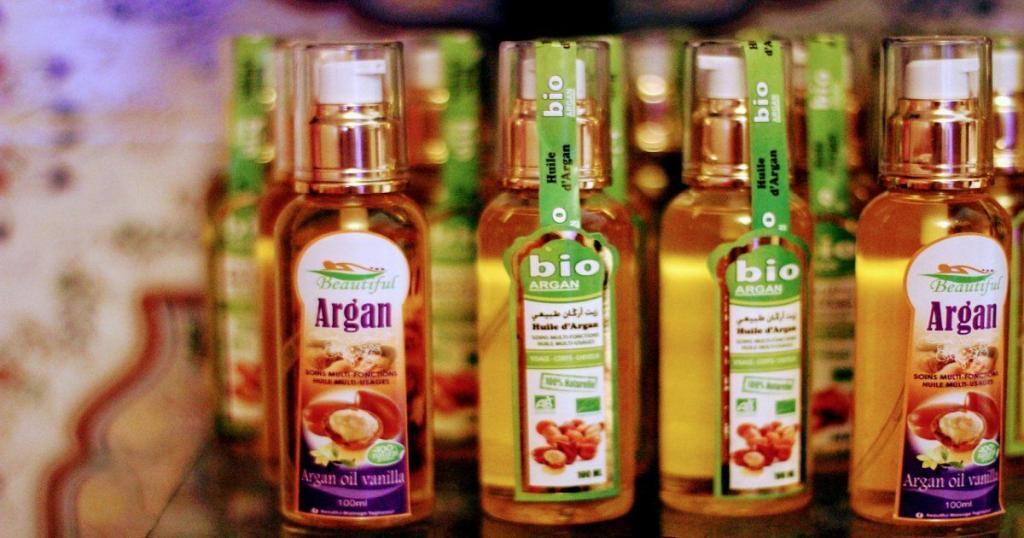 Prodotti petroliferi di argan olio in Marocco
