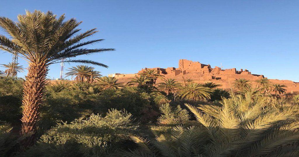 Kasbah di fango nel sud del Marocco