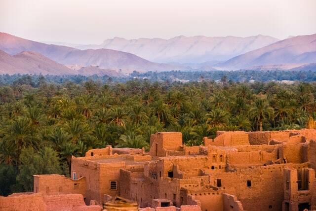 valli sulla strada da marrakech a fes. Itinerario di 3 giorni