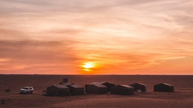 Il miglior tour itinerario di 2 giorni di Marrakech nel deserto di Zagora.