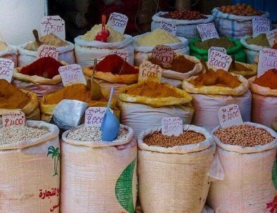 spezie in Marocco