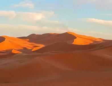 il bellissimo deserto di merzouga