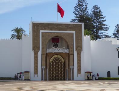 il palazzo dei re a Tetouan, città tra chefchaouen e tangeri