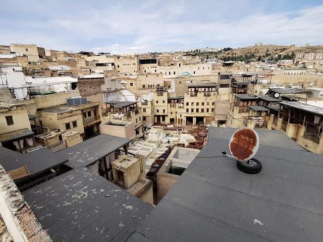 Bastioni di Fes Marocco