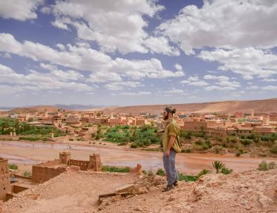 Ait Ben Haddou kasbah con Fes a Marrakech 5 giorni nel deserto